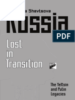 Russia—Lost Transition
