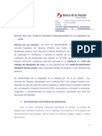 Contesta - Despido Nulo - Romero Sevillano - Loc