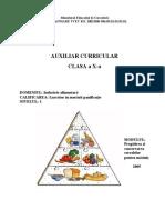 Auxiliar Curricular - Coman M - Pregatirea si conservarea cerealelor pt macinis Cls X.doc