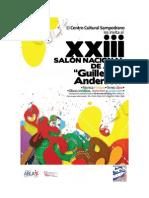 Bases Para Salon Nacional de Arte CCS 2013