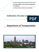 Department of Transportation Leases Audit