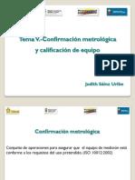 RCM Metrología Química 5, 2011