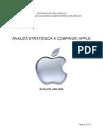 Analiza Strategica - Apple
