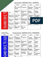 Programa Escuela Abierta 2013