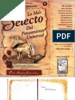 Lo Más Selecto del Pensamiento Universal Nro. 4 - By Priale
