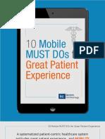 eBook Patient Experience