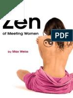 [Max Weiss] the Zen of Meeting Women