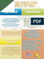 EXPO SALUD, HOGAR, FINANCIERA Y SEGUROS