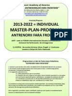 Coach-Individual Master-Plan-Program for 2013-2022 - 3 World Cups