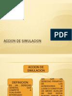 Accion de Simulacion