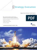 Cracking the Code of Strategy Execution