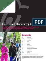 Cultural Diversity Guide 2012-13
