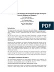 Intermodal Freight Transport by Belgium and Bulgaria