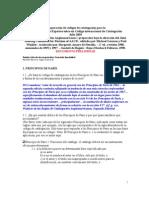 Comparacion de códigos de catalogación