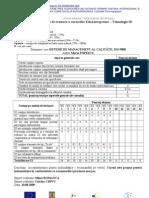 Sisteme Managementul Calitatii Fisa Evaluare TehnologieID EduA[1]