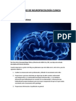CONSORCIO DE NEUROPSICOLOGÍA CLINICA