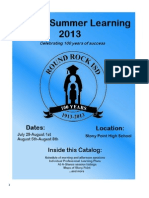 2013SummerPDCatalog 5.20.13
