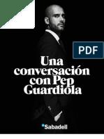 Una conversación con Pep Guardiola