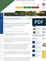Bem Paraná - Reflexos do beneficio fiscal do ICMS nas importações via território paranaense