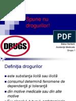 Spune Nu Drogurilor!