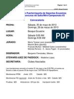 Convocatoria Concurso de Salto # 7 - 2013