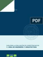 GUÍA PARA LA EVALUACIÓN DE COMPETENCIAS EN EL ÁREA DE INGENIERÍA Y ARQUITECTURA