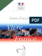 Livret Accueil Vivre en France