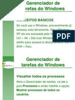 Gerenciador de Tarefas Do Windows