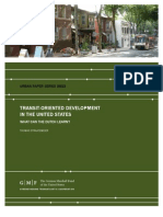 Transit-Oriented Development in the United States