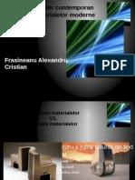 Design Si Mobilier Contemporan Influentele Materialelor Moderne
