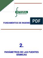 Fundamentos de Ingeniería Sísmica - Sesión 2
