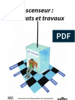 Ascenseur Contrat Travaux
