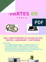 PARTES DE UNA COMPUTADORA