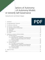 Brunner Kupper, European Options of Autonomy
