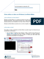 Tutorial Cómo editar un video con Windows Live Movie Maker