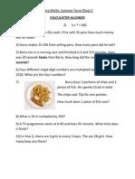 Term 3 Sheet 5