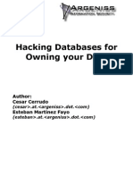 Hacking Database