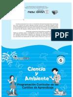 Programación Curricular Ciencia y Ambiente 6to. Grado