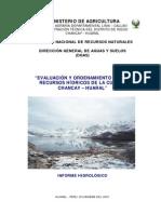 Estudio Hidrologico Chancay Huaral