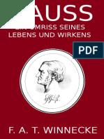 Gauss by Friedrich August Theodor Winnecke