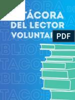 Bitácora de lector voluntario