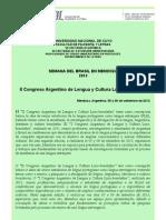 1ª Circular  Oficial - Congreso 2013