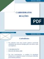 Reações com Carboidratos.ppt
