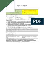 Pi - Costos Industriales - Programa Analitico