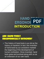 1_Hand Tool Ergonomics - Tool Design
