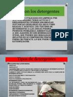Tipos de Detergentes