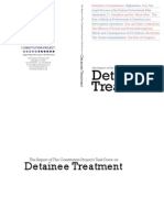 Constitution Project Report on Detainee Treatment