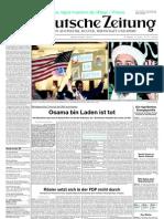 Suddeutsche Zeitung 20110503
