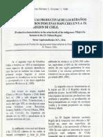 carcateristicas productivas de los rebaños ovinos de ganaderos indigenas mapuches en la IX region de chile