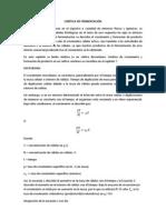 CINÉTICA DE FERMENTACIÓN